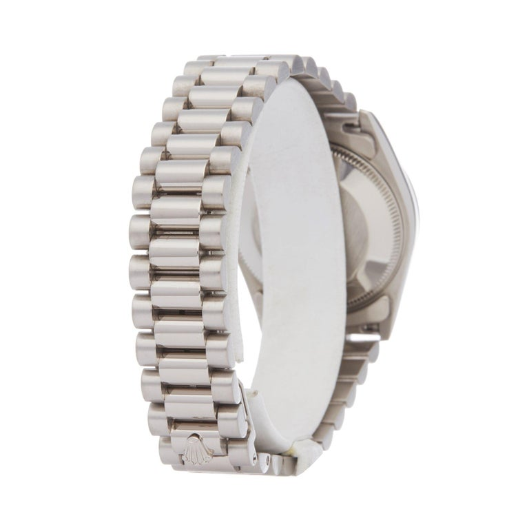 Rolex Datejust 31 68279 Ladies White Gold Diamond Watch For Sale 1