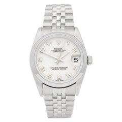 Rolex Datejust 31 69274 Unisex Stainless Steel Watch