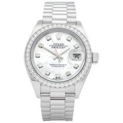 Rolex Datejust 31 Diamond Platinum 279136RBR