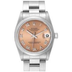 Rolex Datejust 31 Midsize Salmon Dial Ladies Watch 78240