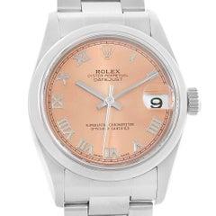 Rolex Datejust 31 Midsize Salmon Dial Oyster Bracelet Ladies Watch 78240