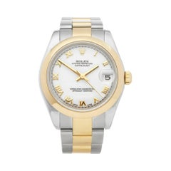Rolex DateJust 31 Stainless Steel and Yellow Gold 178243