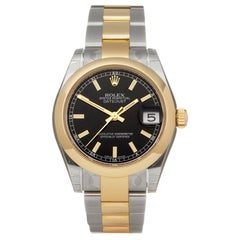 Rolex Datejust 31 Stainless Steel and Yellow Gold 178243 Wristwatch