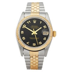 Rolex Datejust 31 Stainless Steel and Yellow Gold 62873 Wristwatch