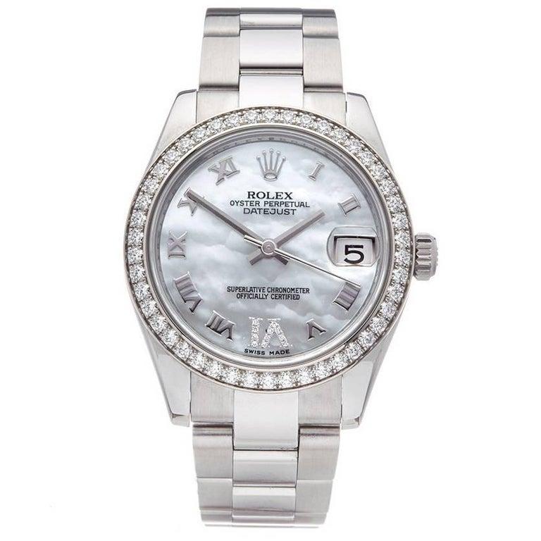Rolex Datejust 31 Stainless Steel Women's 178384