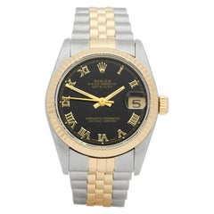 Rolex DateJust 31 Stainless Steel and Yellow Gold 68273 Wristwatch