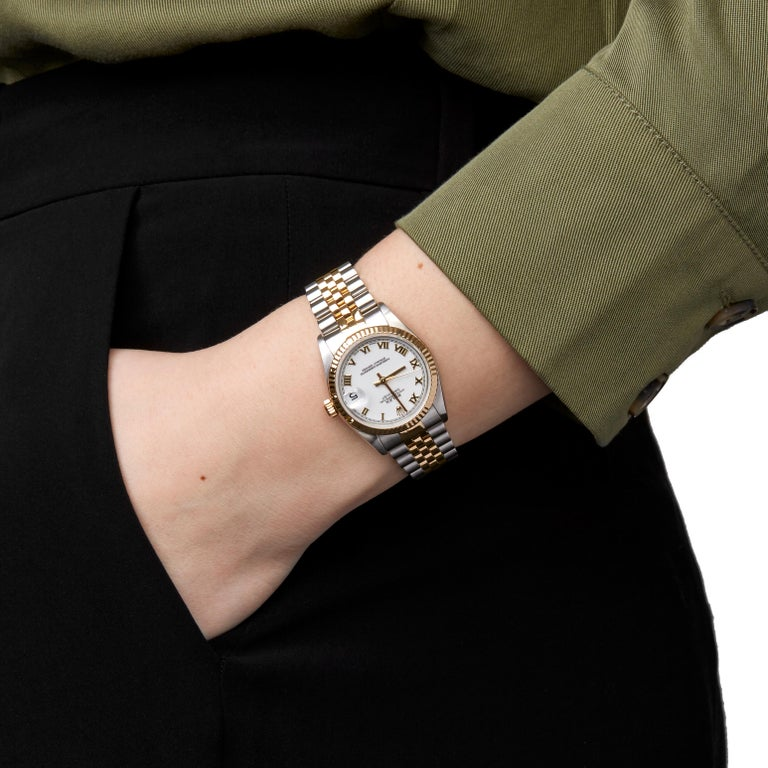 Rolex Datejust 31 Stainless Steel and Yellow Gold 78273 4