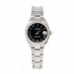 Rolex Datejust 31 Women's Watch 178274-BKRO-PO 'Certified Authentic'