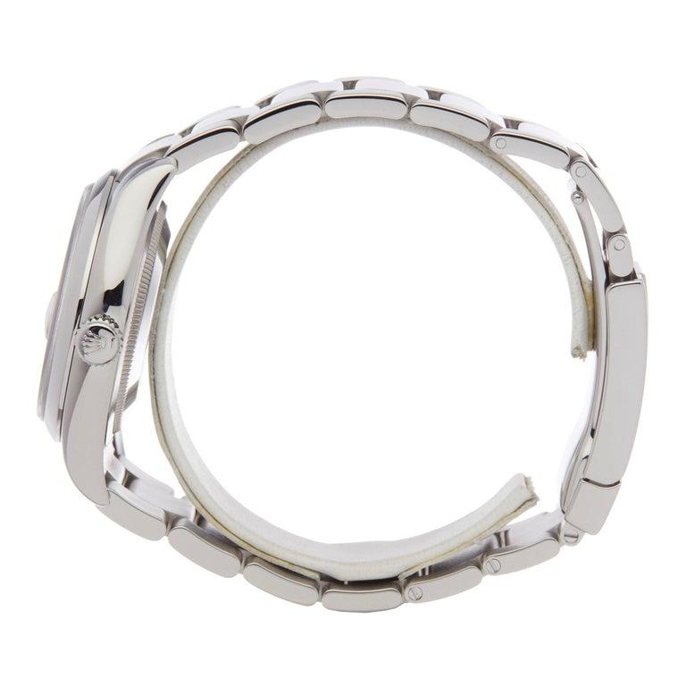 Rolex Datejust 36 116200 Men's Stainless Steel Watch In Excellent Condition For Sale In Bishops Stortford, Hertfordshire