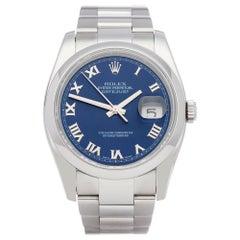 Rolex Datejust 36 116200 Men Stainless Steel Watch