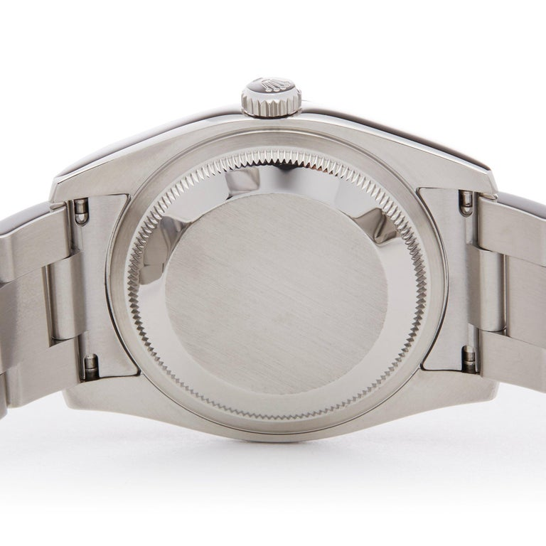 Rolex Datejust 36 116200 Men's Stainless Steel Watch For Sale 3