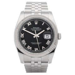 Rolex Datejust 36 116234 Men's Stainless Steel and White Gold Watch