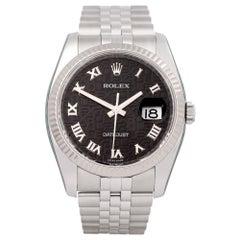 Rolex Datejust 36 116234 Men's Stainless Steel Jubilee Dial Watch