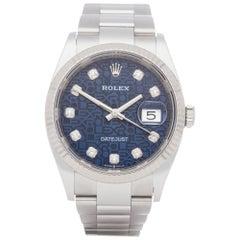 Rolex Datejust 36 126234 Unisex Stainless Steel Watch