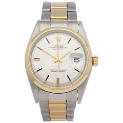 Rolex Datejust 36 1600 Men's Stainless Steel and Yellow Gold Watch