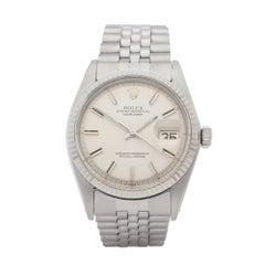 Rolex Datejust 36 1601 Men White Gold & Stainless Steel 0 Watch