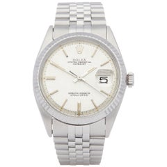 Rolex Datejust 36 1601 Men's Stainless Steel Linen Dial Watch