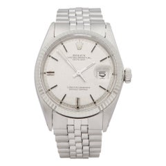 Rolex Datejust 36 1601 Men's Stainless Steel Linen Dial Watch