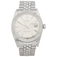 Rolex Datejust 36 1601 Men's Stainless Steel Step Dial Watch