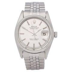 Rolex Datejust 36 1601 Men's White Gold & Stainless Steel 0 Watch