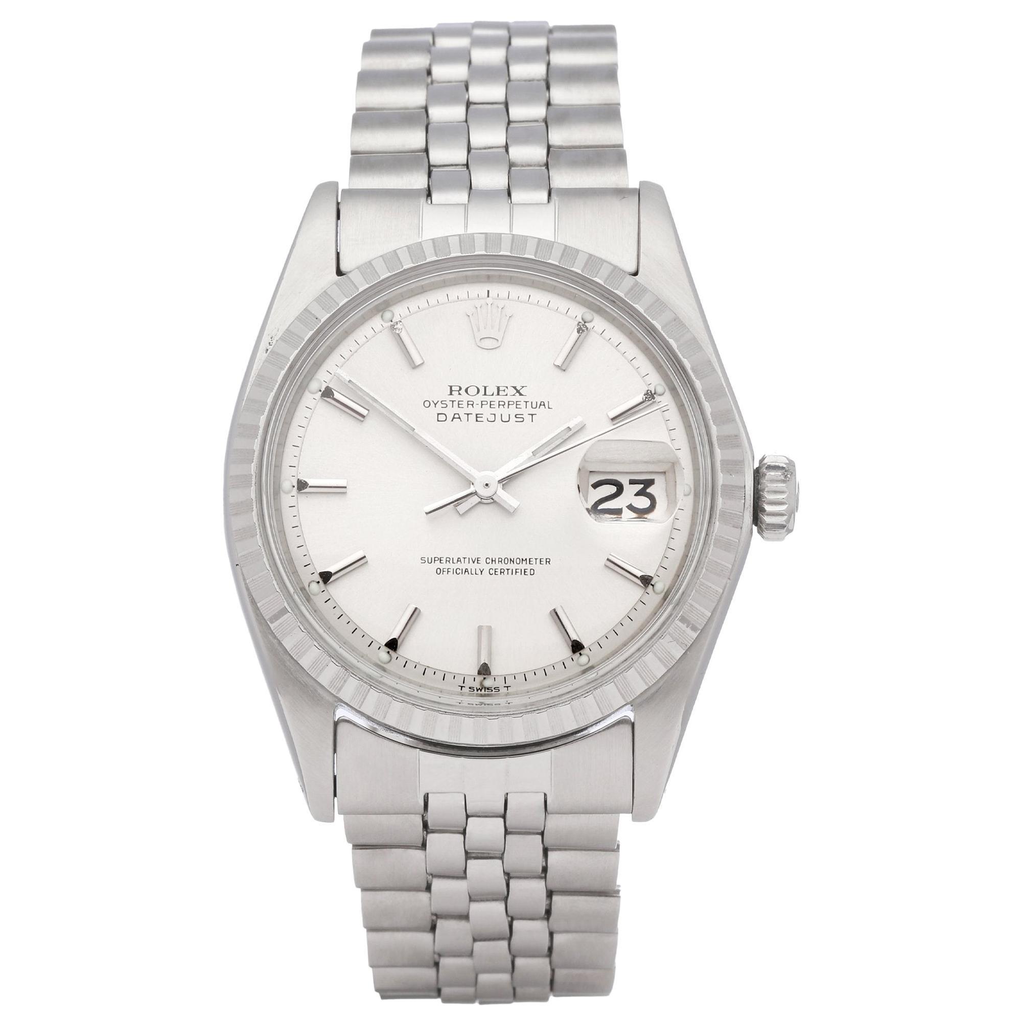 Rolex Datejust 36 1603 Men's White Gold & Stainless Steel 0 Watch