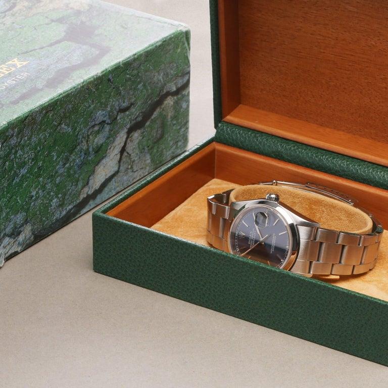 Rolex Datejust 36 16200 Men Stainless Steel 0 Watch For Sale 6
