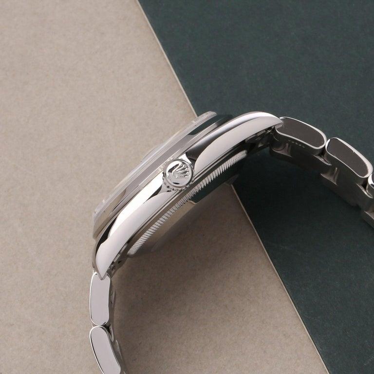 Rolex Datejust 36 16200 Men Stainless Steel 0 Watch In Excellent Condition For Sale In Bishops Stortford, Hertfordshire