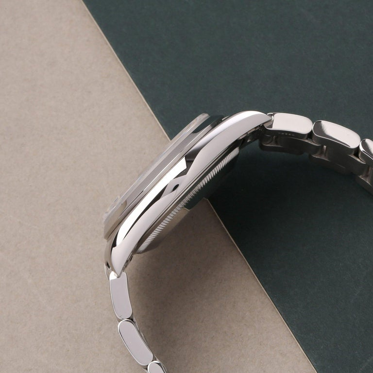 Men's Rolex Datejust 36 16200 Men Stainless Steel 0 Watch For Sale