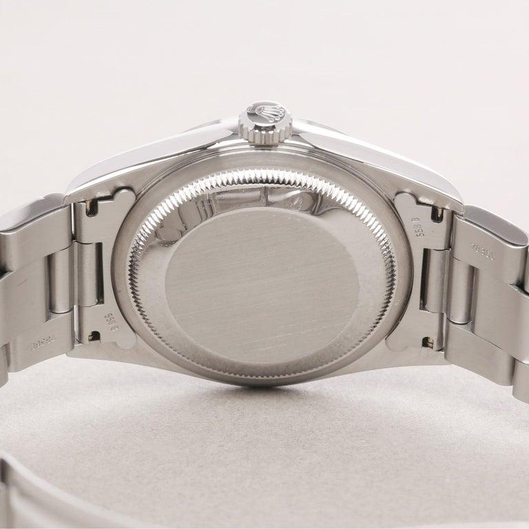 Rolex Datejust 36 16200 Men Stainless Steel 0 Watch For Sale 2