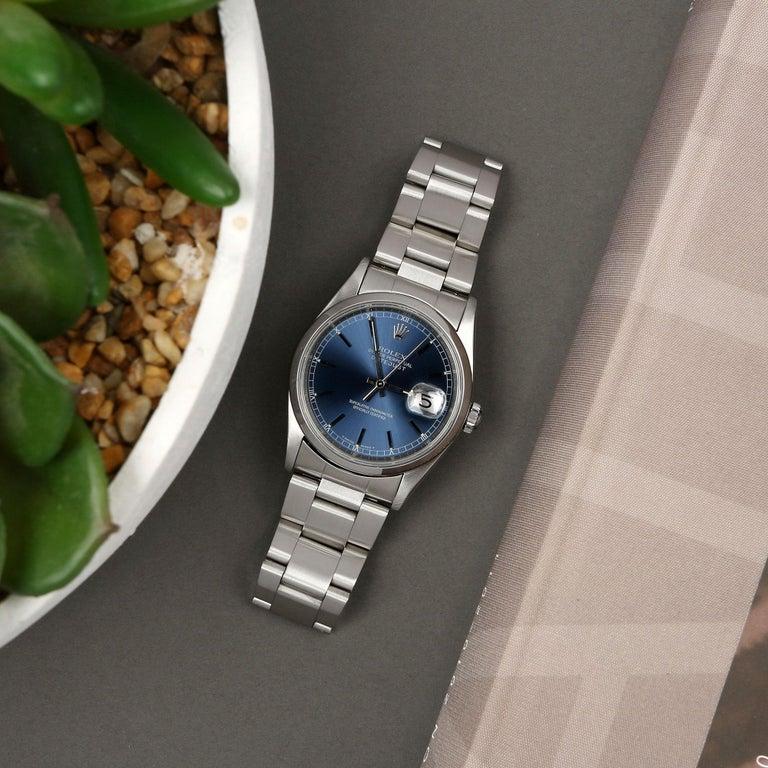 Rolex Datejust 36 16200 Men Stainless Steel 0 Watch For Sale 5