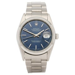 Rolex Datejust 36 16200 Men Stainless Steel 0 Watch