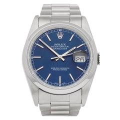 Rolex Datejust 36 16200 Men's Stainless Steel Watch