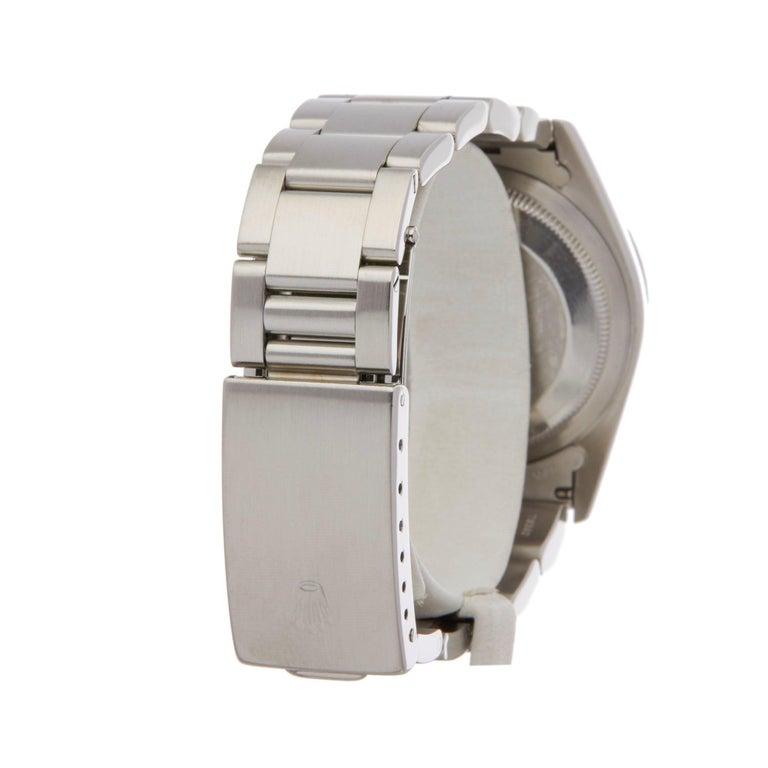 Rolex Datejust 36 16220 Unisex Stainless Steel Linen Dial Watch 1