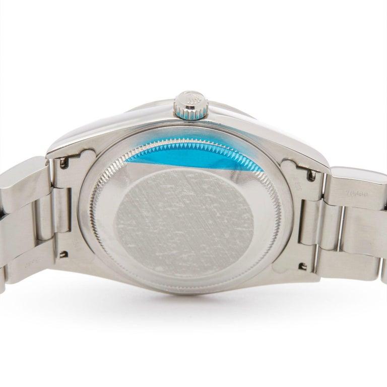 Rolex Datejust 36 16220 Unisex Stainless Steel Linen Dial Watch 2