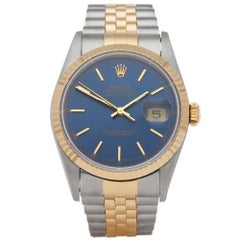 Rolex Datejust 36 16233 Unisex Stainless Steel and Yellow Gold Watch