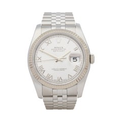 Rolex Datejust 36 Stainless Steel 116234 Wristshot