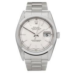 Rolex Datejust 36 Stainless Steel 16220 Wristwatch