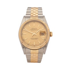 Rolex  Datejust 36 Stainless Steel & 18K Yellow Gold 16233