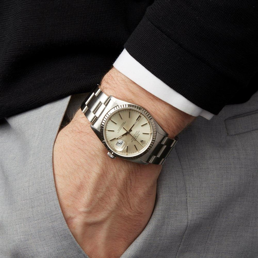 Rolex Datejust 36 Stainless Steel and 18K White Gold 1623