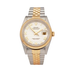 Rolex  Datejust 36 Stainless Steel and 18K Yellow Gold 16233