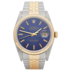 Rolex DateJust 36 Stainless Steel and Yellow Gold 16233