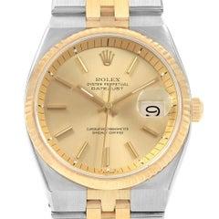 Rolex Datejust 36 Steel 18 Karat Yellow Gold Men's Watch 1630