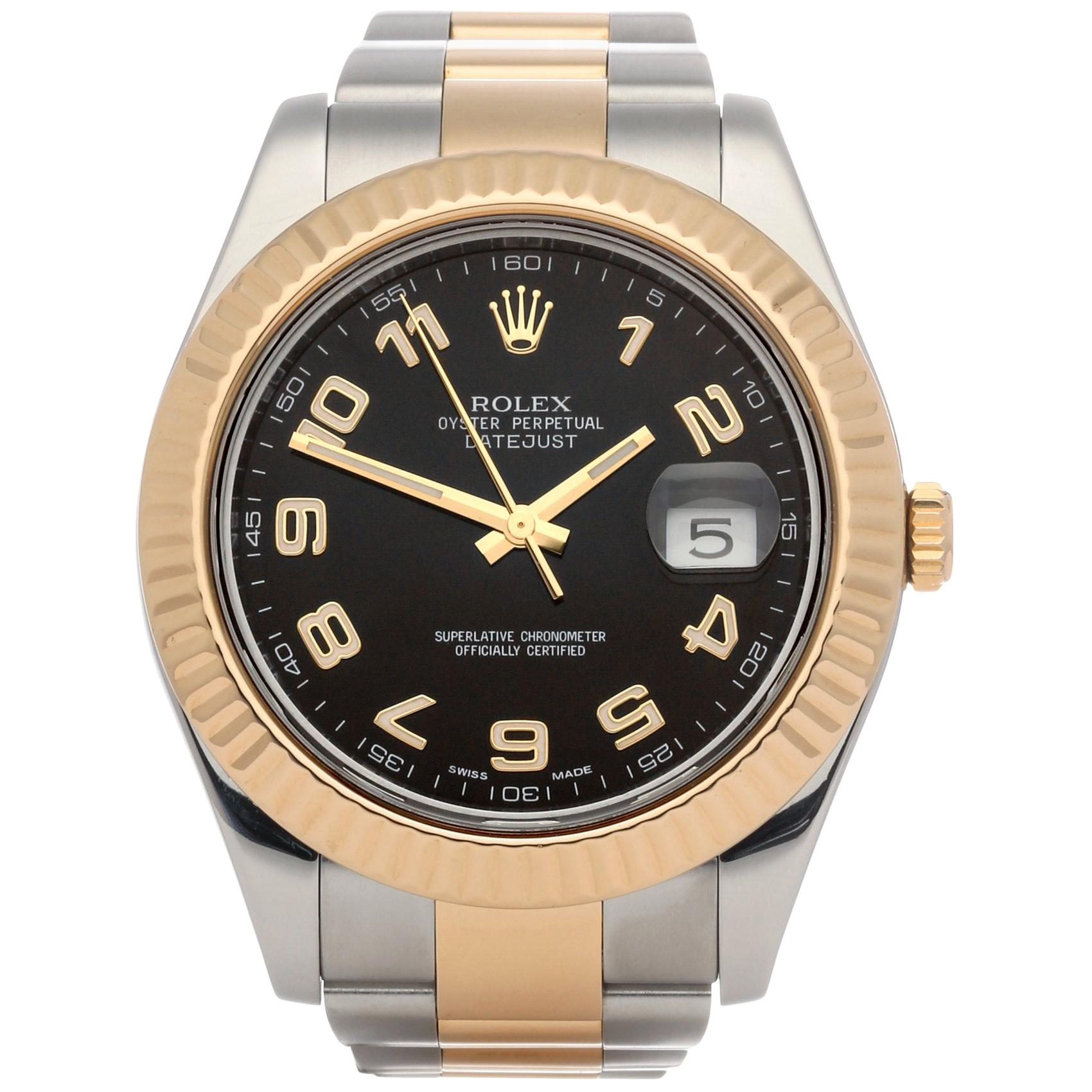 Rolex Datejust 41 116333 Men's Stainless Steel and Yellow Gold Watch
