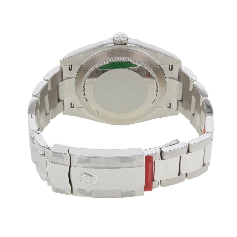 Rolex Datejust 41 126300 Wio White Index Dial Steel Automatic Men's Watch For Sale 2