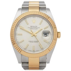 Rolex Datejust 41 126333 Men's Stainless Steel and Yellow Gold  Watch