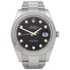 Rolex Datejust 41 126334 Men Stainless Steel and White Gold Watch