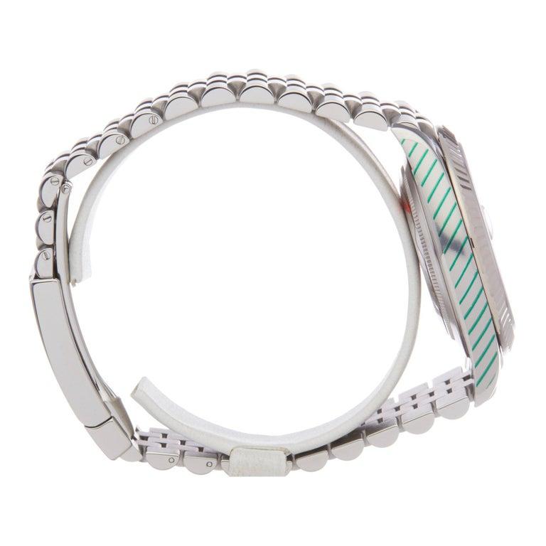 Rolex Datejust 41 126334 Men's Stainless Steel Diamond Watch For Sale 1