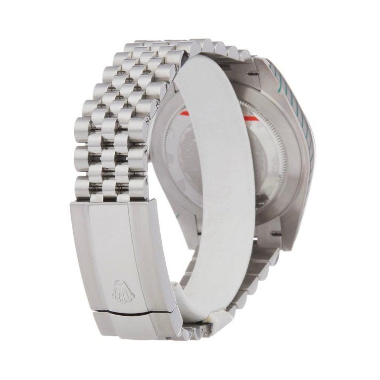 Rolex Datejust 41 126334 Men's Stainless Steel Diamond Watch For Sale 2