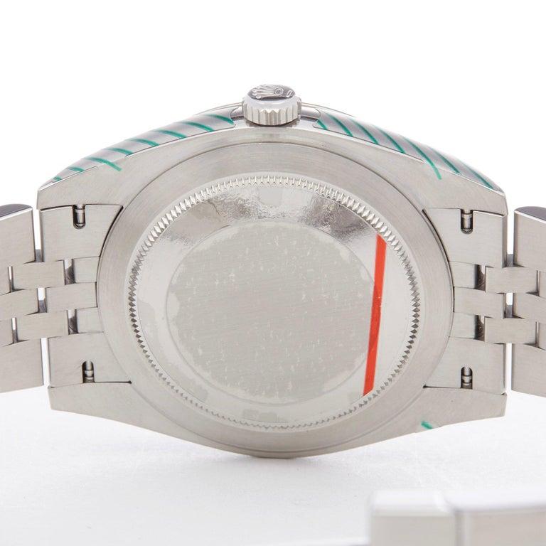 Rolex Datejust 41 126334 Men's Stainless Steel Diamond Watch For Sale 3
