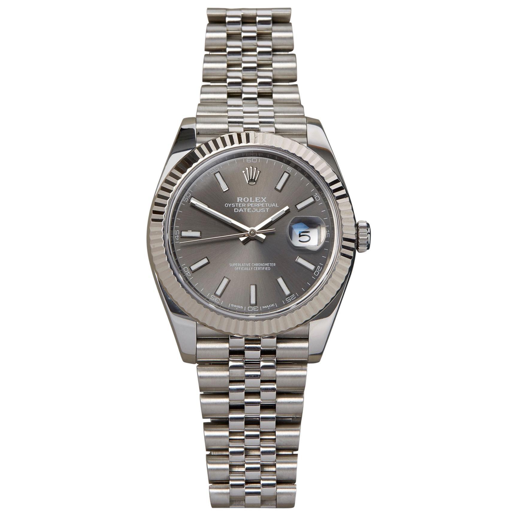Rolex Datejust 41 126334 Men's Stainless Steel 0 Watch
